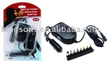 High Quality universal Laptop 80W Car Adapter(CE Certification)