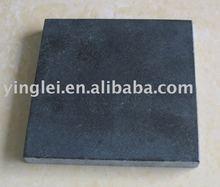 YL-G031 honed black granite tile