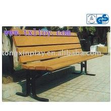 leisure wooden bench