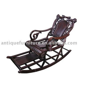 Antique Las Rocking Chair-Phoenix Chair Co 1875-1935