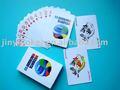 الأوروبي بطاقة اللعب حسب الطلب، لعبة البوكر ورقة