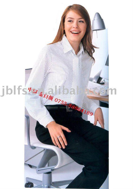 Women 39 S Business Shirt Blouse View Women Shirt