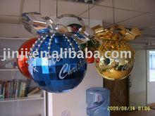 Flower cap christmas ball