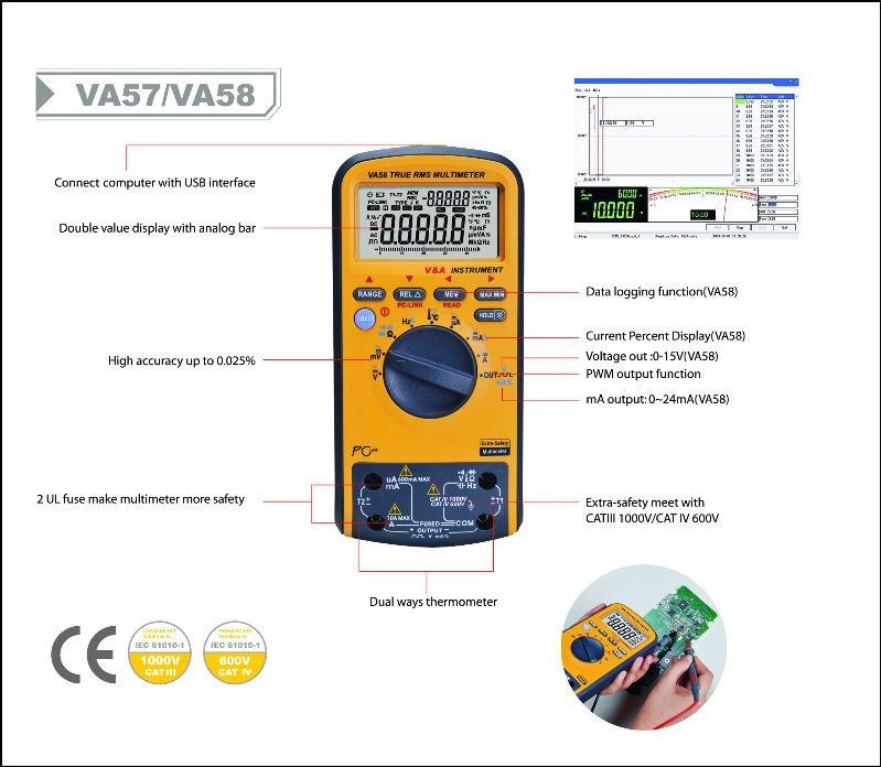True Rms Voltmeter True Rms Kalibrator-multimeter
