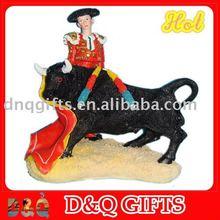Spain bullfight statue