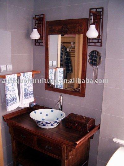 Muebles Baño Estilo Antiguo:Gabinete de cuarto de baño, chino muebles antiguos reproducción