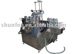 Automatic liquid filling production line