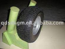 rubber solid wheel barrow wheel 13x5.00-6