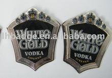 metal decanter label,stannum label,wine label