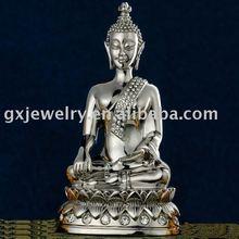 metal buddhism craftwork,stainless steel gift.