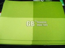 PVC coated woven PLACE MAT for restaurant