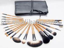 Polular and graceful cosmetic brush set with 22pcs professional make up brush, makeup brush set JDK-PL7889