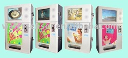 Condom Vending Machine with LCD Promotion Screen