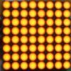 8X8 Orange LED dot matrix display