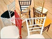 Gold Chiavari Chair Used Modern Wood Colorfu Dining Chair
