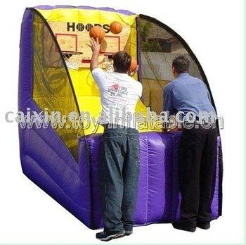 inflatable basketball frame