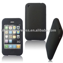 Mobile phone silicon skin case cover for Iphone3G/3GS(used for protecting your cell phone )