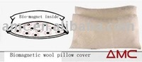 Magnetic wool pillow case, Pillow cover, pillow protector