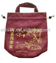 Promotion non woven drawstring shopping bag