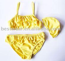 Bestwear new nylon super cute girl bikini, bathing suit, girl bathers