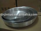 sanding polished grill pan