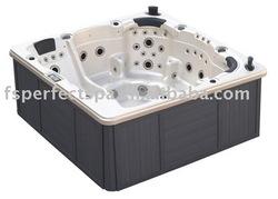 Spa Hot Tub Spa Outdoor massage spa bathtub massage finishing material
