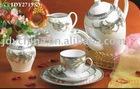 123pcs porcelain tableware