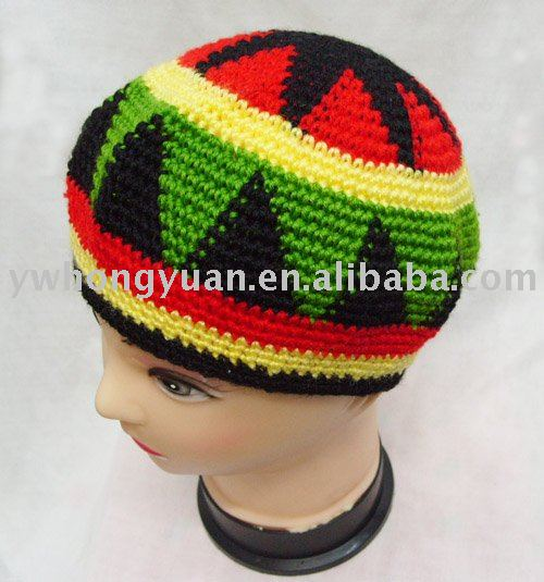 Easy Crochet Rasta Hat Pattern : CROCHET RASTA HAT PATTERN FREE PATTERNS