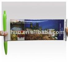 Banner pen,Scroll pen,Flag pen