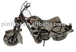 Antique Metal Motorcycle Model