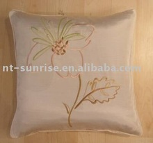 embroidery cushion,home textile,feather cushion