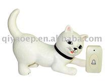Digital Wireless Doorbell Lovely Cat & Cat Chime