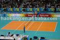 el deporte de voleibol de las superficies