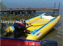 speed inflatable motor sports pvc boat