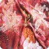 jacquard raw silk chiffon fabric with lurex