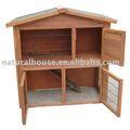 Nenhum item drh-2 coelho gaiola de madeira