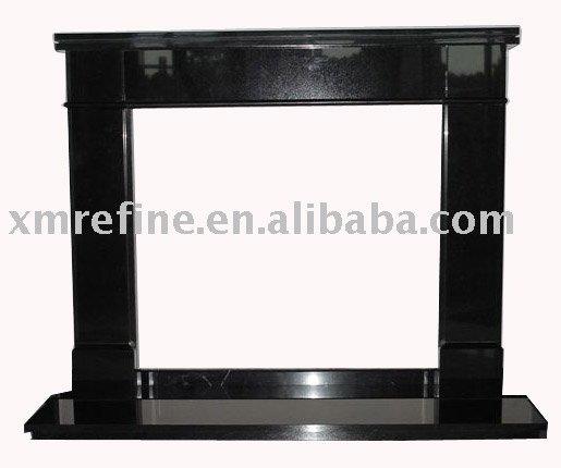 Black Granite Fireplace Mantels 515 x 430