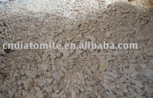 minerai cru de terre à diatomées