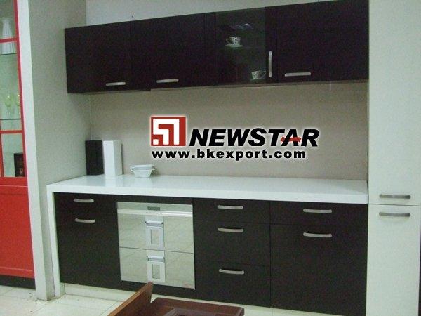 Modelo de gabinetes de cocina ( mdf gabinete )