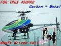 450 pro - z - k1 carbone metallo rc elicottero modello kit arf t-rex volo trex 450 pro + sostegno paypal