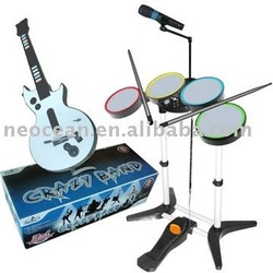 For WII/PS2/PS3/3in1 crazy band drum,accept paypal