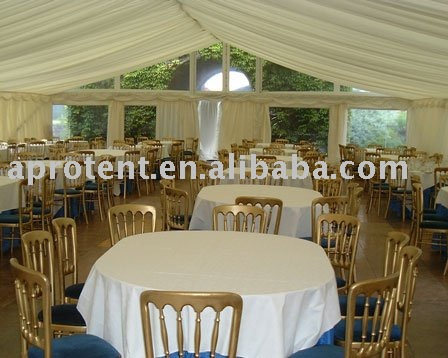 Alum wedding tent 39s frame use hard pressed extruded aluminum alloy