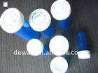 plastic blue pill vials