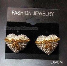 Fashion Rhinestone Earring / heart