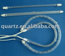 halogen heating lamp with white coated