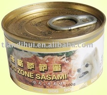 pet food Canned chicken and beef
