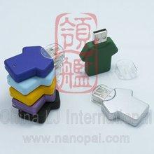 cute sports shirt usb flash, mini T-shirt usb flash memory, sports shirt usb stick