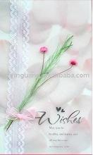 elegant paper rose greeting cards