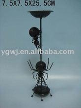metal spider candle holder halloween