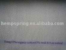 hemp 55%/ organic cotton 45% fabric
